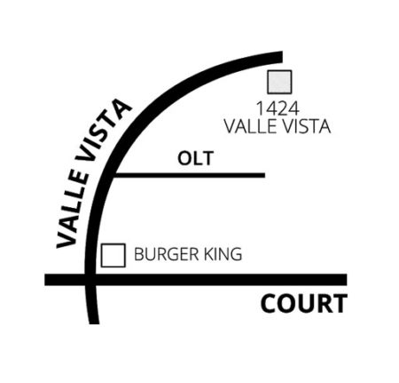 Map - Dr. Kuban - Pekin, IL Dentist - 1424 Valle Vista